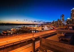 美国西雅图城市风景图片(10张)