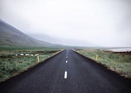 平坦的黑色沥青路图片(10张)