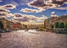 俄罗斯圣彼得堡城市风景图片(8张)