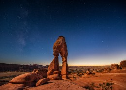 美国阿切斯国家公园风景拱门图片(11张)
