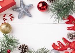 圣诞节白色背景装饰图片(9张)