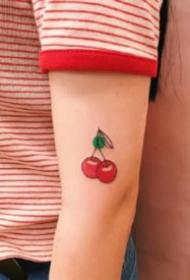 水果小纹身  可爱的一组