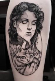 来自欧美的一组好看点刺纹身图片