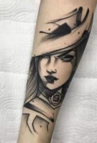 英雄联盟纹身 9张LOL英雄联盟人物的包臂纹身图案
