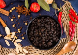 传统做法的美味豆豉图片(8张)