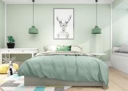 北欧风格儿童卧室设计图