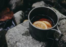 杯子里的柠檬茶图片(12张)