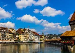 瑞士卢塞恩城市风景图片(10张)