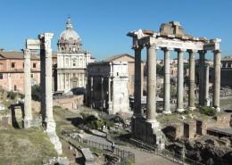 意大利古罗马废墟风景图片(14张)