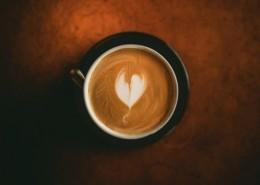 咖啡和咖啡拉花图片(8张)