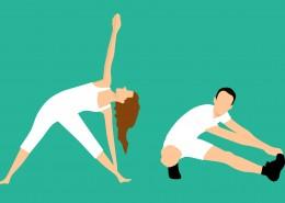 健身的人图案素材图片(1