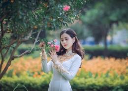 穿旗袍的泰国美女图片(12张)