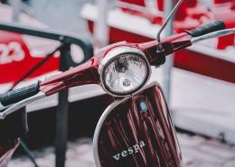 小型摩托车的细节特写图片(11张)
