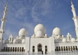 阿联酋阿布扎比大清真寺图片(14张)