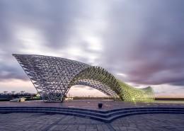 上海南汇嘴雕塑建筑风景图片(10张)