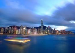 香港维多利亚港城市风景图片(8张)