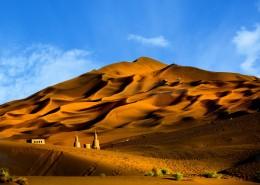 新疆库木塔格沙漠自然风景图片(9张)