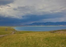 新疆赛里木湖自然风景图片(14张)