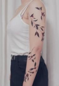 简单又好看的9张创意线条纹身图片