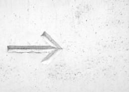 路边的箭头标识图片(11张)
