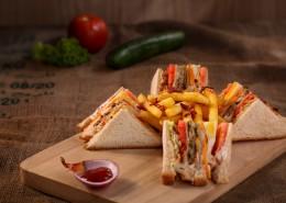 三明治早餐图片(10张)