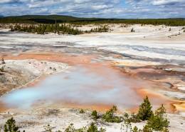 美国黄石国家公园自然风景图片(22张)