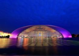 中国国家大剧院夜景图片(13张)