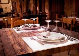餐厅干净的餐桌图片(13
