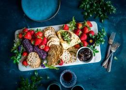 丰盛的水果早餐图片(11张)