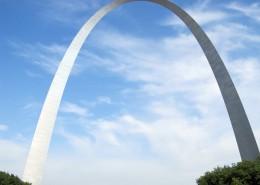 雄伟壮观的圣路易弧形拱门图片(14张)