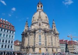 德累斯顿圣母教堂建筑风景图片(14张)