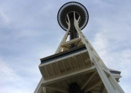 西雅图地标性建筑太空针塔图片(15张)