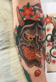 般若刺青:传统风格的9款般若纹身图案