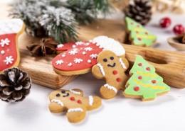 可爱的圣诞节姜饼图片(10张)