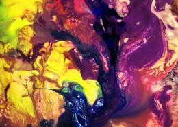 抽象水彩画图片(10张)