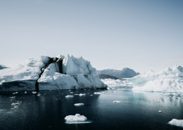 极地地区的冰山图片(11
