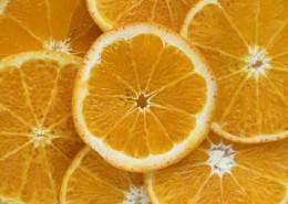 酸甜可口营养十足切开的橙子图片(15张)