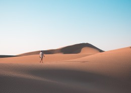 沙漠里的人图片(14张)