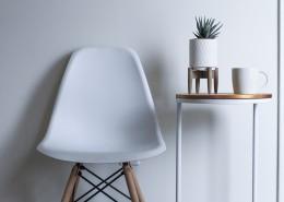 简约北欧风单人椅图片(1