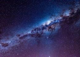 绚烂的银河系图片(10张)