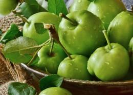 酸甜可口的青苹果图片(16张)