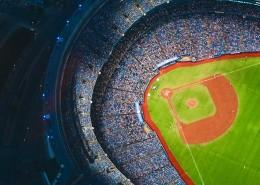 棒球场的特写图片(14张)