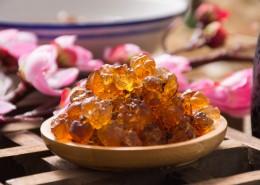 滋补营养桃胶图片(9张)