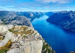 挪威峡湾自然风景图片(9