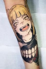火影忍者纹身 9款包小手臂的火影忍者人物纹身图案