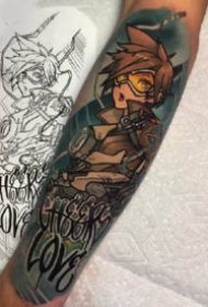 守望先锋9款英雄纹身--