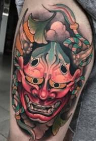 般若刺青 各风格的9款小般若纹身图片