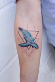 女生小臂纹身 9款适合女生小臂的小清新纹身图片