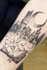 哈利波特主题的一组9款小纹身欣赏