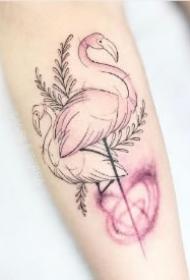 小清新女生纹身 唯美的9款女孩子的小清新纹身作品图片